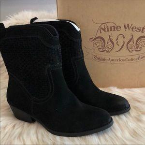Nine West 8.5 size Booties